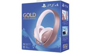 Sony Gold Wireless PS4 Headset - Rose Gold £44.99 @ Argos (Free Click & Collect)