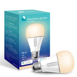 Kasa Smart Bulb by TP-Link, WiFi Smart Switch £14.99 + £4.49 delivery NP @ Amazon
