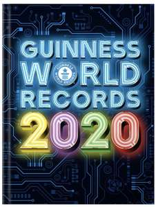 Guinness World Records 2020 Hardcover £7 + £2.99 NP @ Amazon