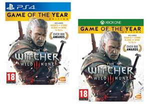 The Witcher 3: Wild Hunt - Game of the Year Edition [PS4/XBOX ONE] for £12.95 Delivered @ The Game Collection