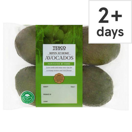 Tesco Ripen At Home Hass 4 Avocados - Tesco - £1.31