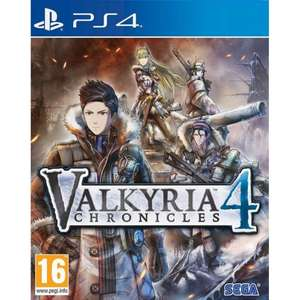 VALKYRIA CHRONICLES 4 (PS4) @ TheGameCollection £14.95