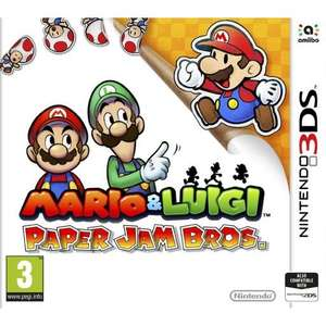 Mario & Luigi: Paper Jam Bros (Nintendo 3ds/2ds) - £7.95 delivered @ The Game Collection