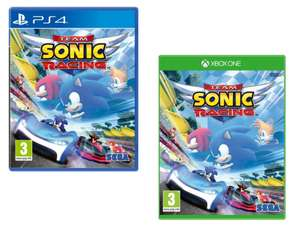 Team Sonic Racing (PS4/Xbox One) for £16.95 Delivered @ The Game Collection