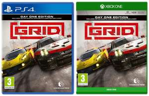 Grid - Day One Edition (PS4 / Xbox One) for £26.95 @ The Game Collection