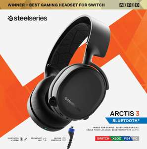 SteelSeries Arctis 3 BLUETOOTH Multi Platform Gaming Headset £50.64 After 20% Discount @ Amazon Warehouse (Like New)