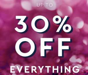 Black Friday - Up to 30% off everything @ Wallis and Evans