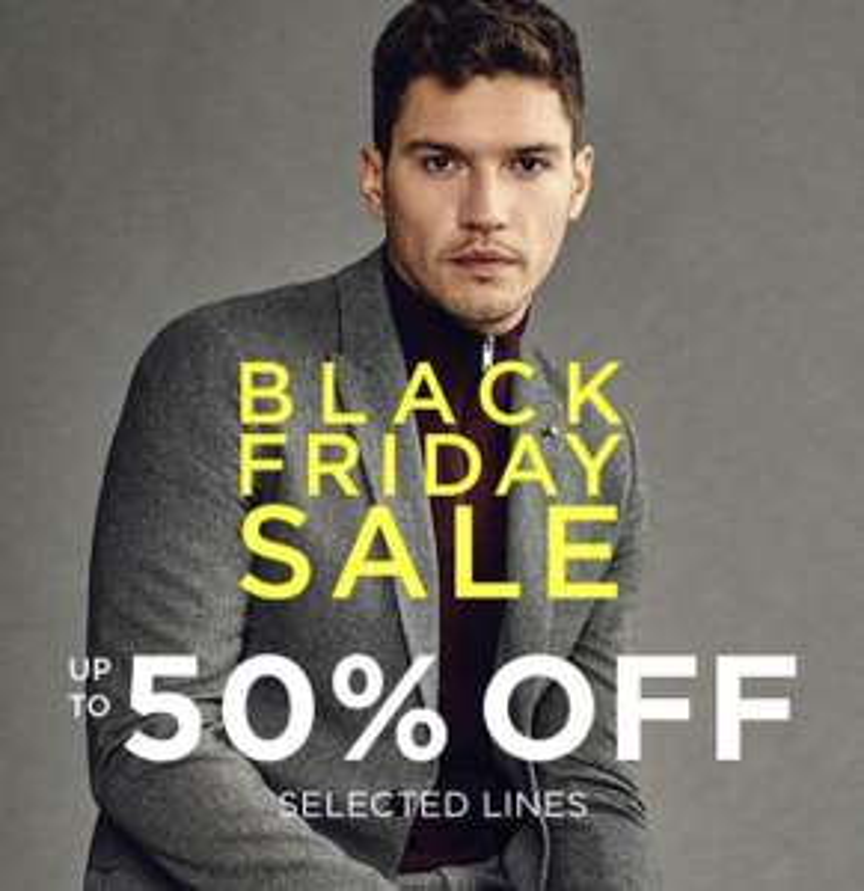 Black Friday Up to 50% off @ Burton Menswear