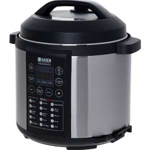 HADEN Silver 15in1l Kitchen Angel Instant Pot 5.5l - £44.99 +£1.99 click and collect @ Tk Maxx