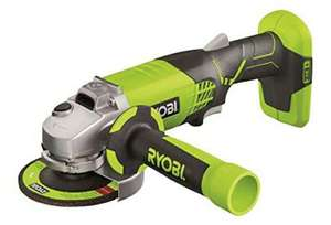 Ryobi R18AG-0 ONE+ Angle Grinder, 18V (Body Only) at Amazon for £46.99
