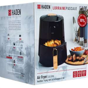 HADEN Black Air Fryer 3.6L - £39.99 +£1.99 click and collect @ Tk Maxx