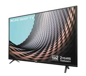 TCL 55DP628 55 Inch UHD 4K TV, HDR10 and HLG, Freeview Play, (2018/2019 Model) - Black DOTD - £349 @ Amazon