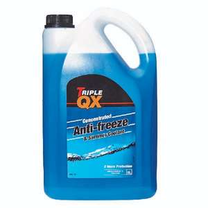 TRIPLE QX Blue Antifreeze/Coolant 5Ltr £11.06 with the code at Euro Car Parts