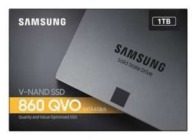 "SAMSUNG 860 QVO 1TB 2.5"" SATA III SSD £109.99 at Box.co.uk"