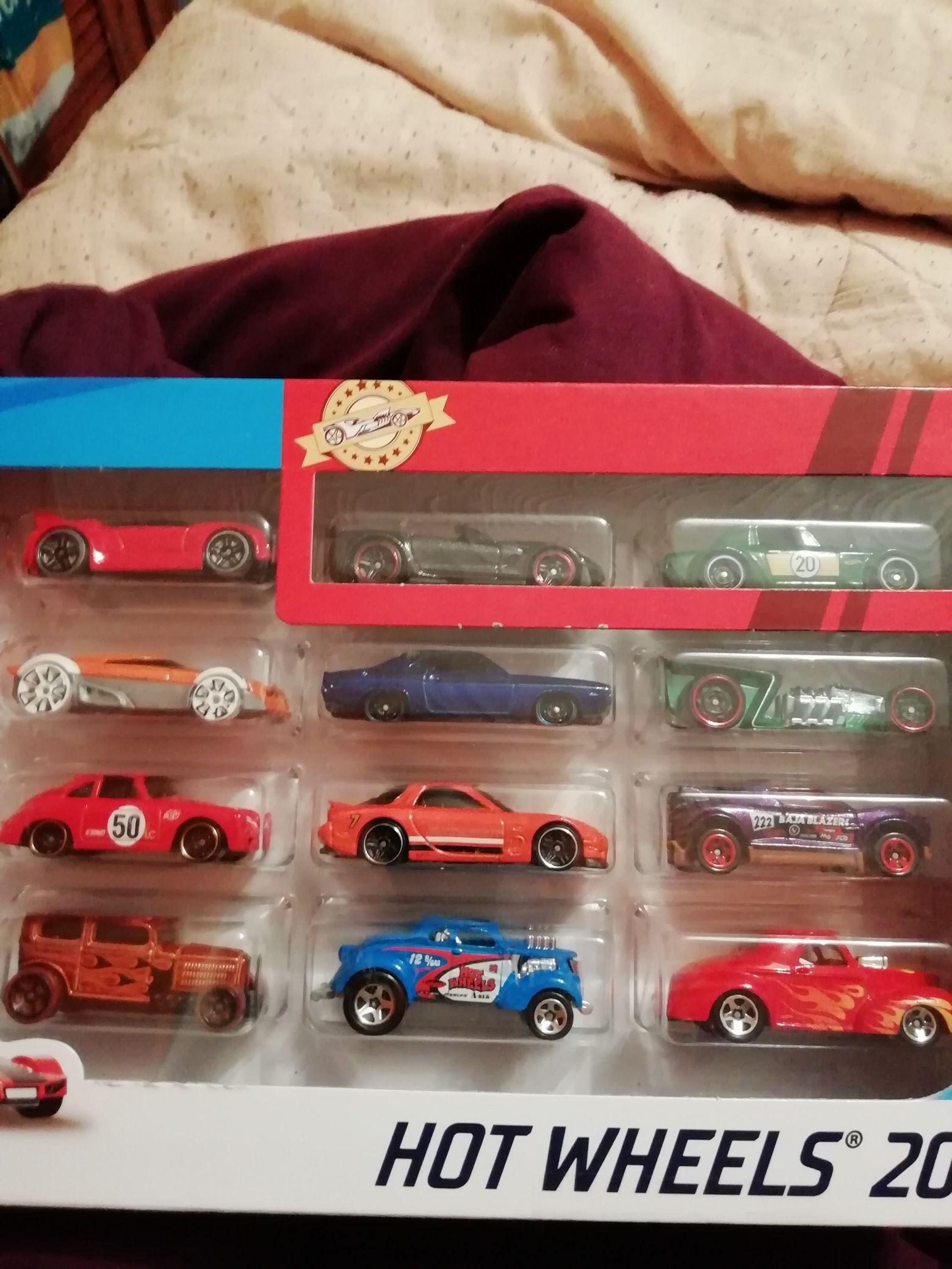 Hot Wheels 20 pack of cars £12 at Asda Walsall