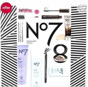 No7 Treasured Treats - 10 items for £35.00 @ Boots