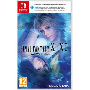 Final Fantasy X / X-2 HD Remaster/XII The Zodiac Age [Switch] for £22.95 each Delivered @ The Game Collection