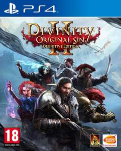 Divinity Original Sin 2 - Definitive Ed. (PS4) - £14.95 at The Game Collection