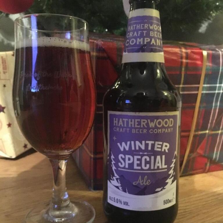 Hatherwood Winter Special Ale 5% 500ml - Lidl £1.29