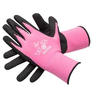 Gecko Pink High Grip Mechanics Gloves £1.14 For The Pair with code @ EuroCarParts