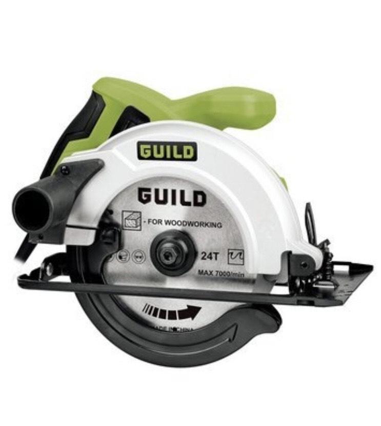 Guild 160mm Circular Saw 1200w £32 @ Argos (Free Click & Collect)