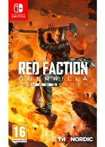 Red Faction Guerrilla Re-Mars-Tered - Nintendo Switch - £17.99 Base.com