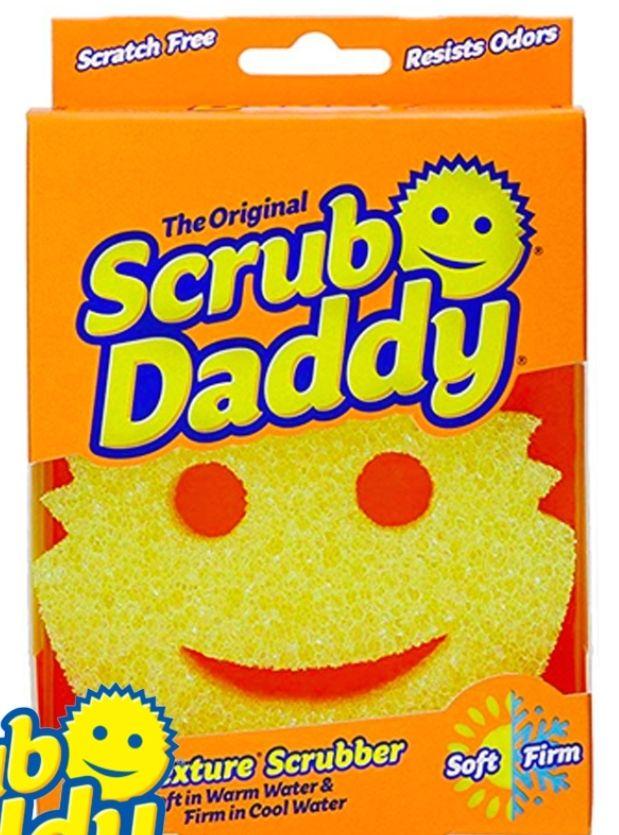 The Original Scrub Daddy FlexTexture Scrubber just £2.49 at Home Bargains