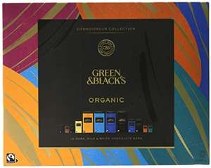 Green & Black's Organic Tasting Collection Boxed Chocolate, 540g £10.99 Prime / £15.48 Non Prime at Amazon