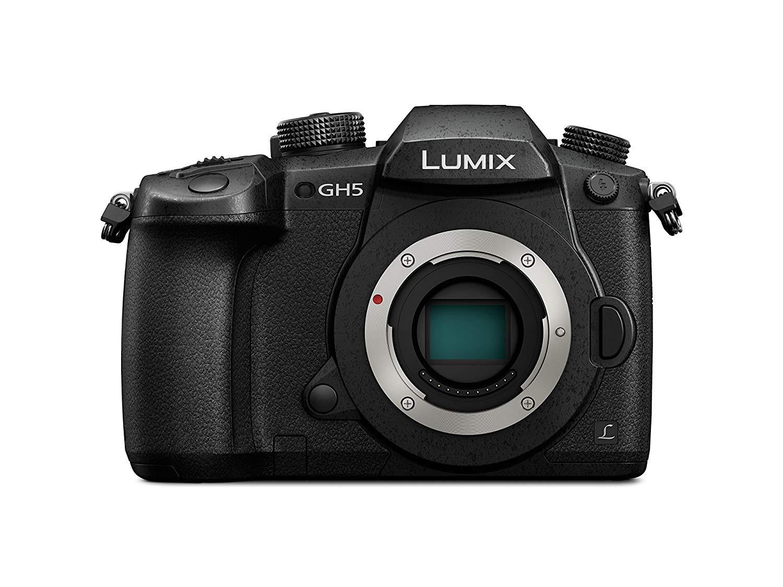 PANASONIC LUMIX DC-GH5EB-K Mirroless 4K Camera + FREE 25mm F1.7 Prime Lens £1,040 at Amazon