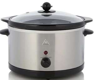 3L Slow Cooker - Stainless Steel £10 at George (Asda George)
