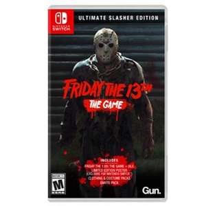 Friday the 13th The Game Ultimate Slasher edition £17.99 on Nintendo eshop