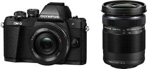 Olympus OM-D E-M10 Mark II with 14-42 EZ (pancake) Lens + 40-150 mm Lens £399 at Amazon