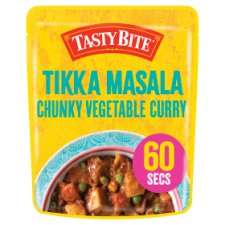 FREE Tasty Bite Vegetable Curry with Tesco Online Delivery