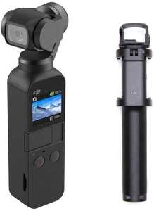 DJI Osmo Pocket 3 Axis Gimbal Stabiliser and Integrated Camera with DJI Osmo Pocket, Extension Rod - £279 @ Amazon