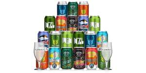 20 x Craft beer and 2 glasses for £19.90 @ Flavourly (New Customers Only) - With Code