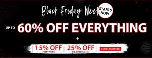 Black Friday Deals at Shein including Free Delivery