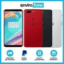 OnePlus 5T 64GB SIM Free Unlocked Refurbished Smartphone for £158.17 with code at eBay / envirophone