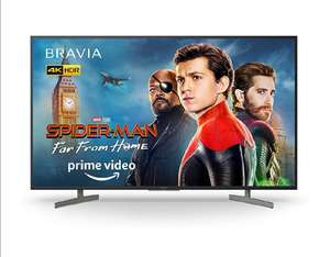 Sony BRAVIA KD49XG81 49-inch LED 4K HDR Ultra HD Smart Android TV with voice remote - Black (2019 model) £539 @ Amazon