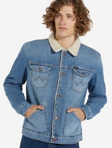 Mens Wrangler Icons 124MJ sherpa denim jacket - £39.99 @ eBay / djbjeans