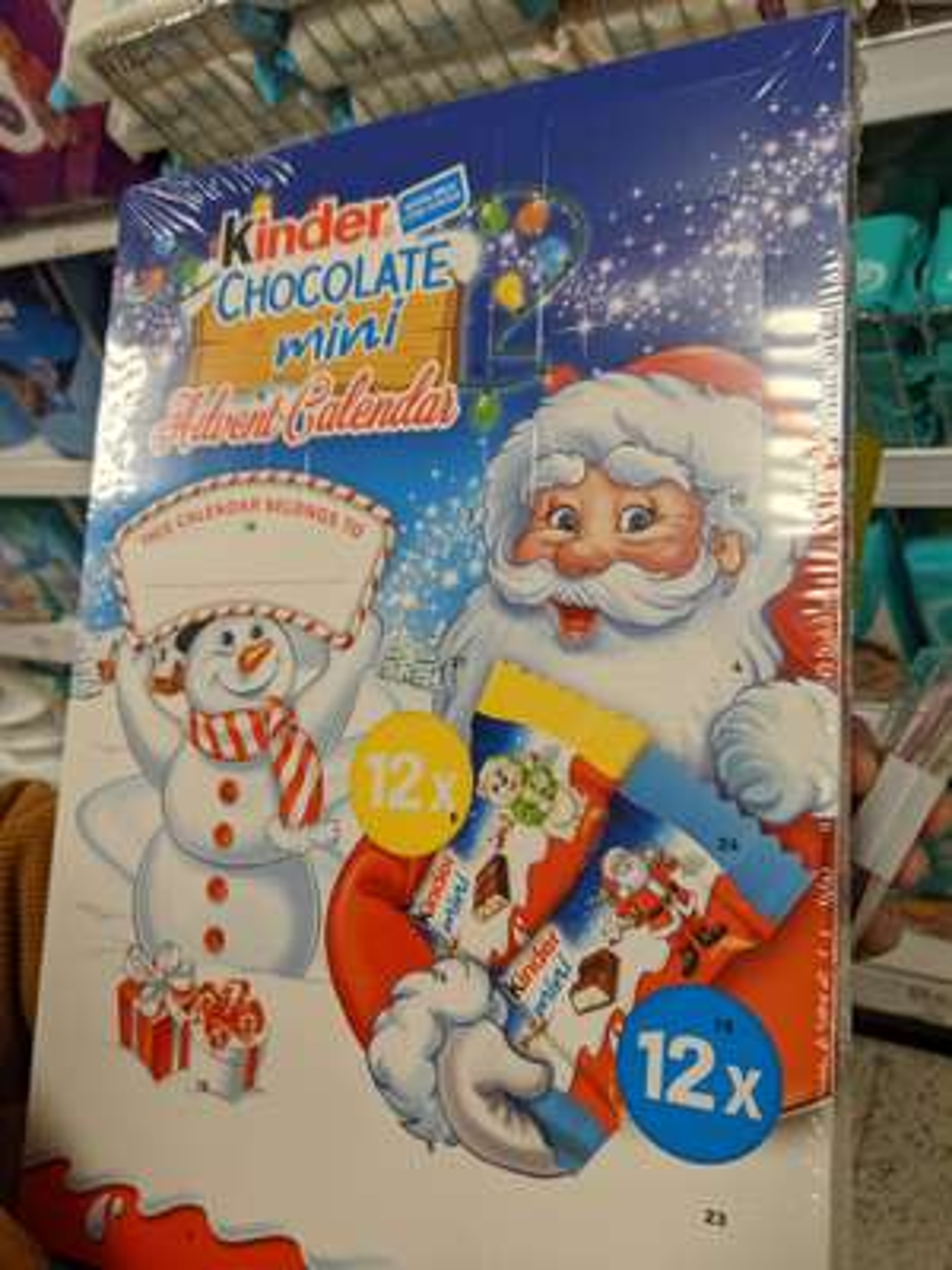 Kinder advent calendar - 99p Instore @ Home Bargains (Ashton)