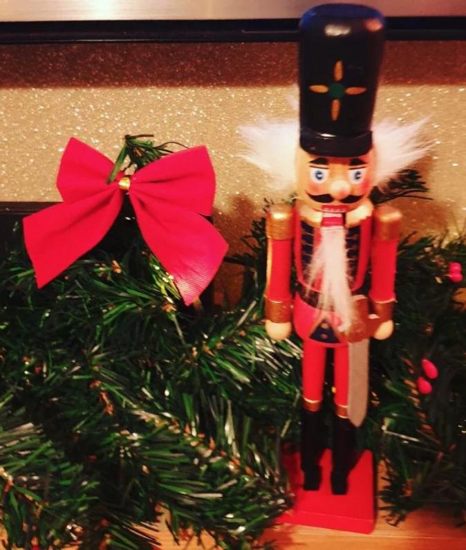 Christmas Nutcracker 23cm High £1 poundland walsall west Midlands