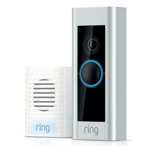 Ring Pro doorbell with chime kit £149 @ B&Q