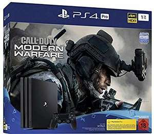 PlayStation 4 Pro - Console incl. Call of Duty - Modern Warfare (1TB, black, Pro) £276.53 (£264.64 with a fee free card) Amazon Germany