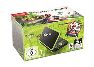 Nintendo 2DS XL Console with Mario Kart 7 (Black / Green) £101.96 (£98 with fee free card) Delivered @ Amazon Germany
