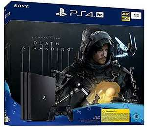 PlayStation 4 Pro - Console incl. Death Stranding (1TB, black, Pro) £276.54 (£264.56 with fee free card) at Amazon.de