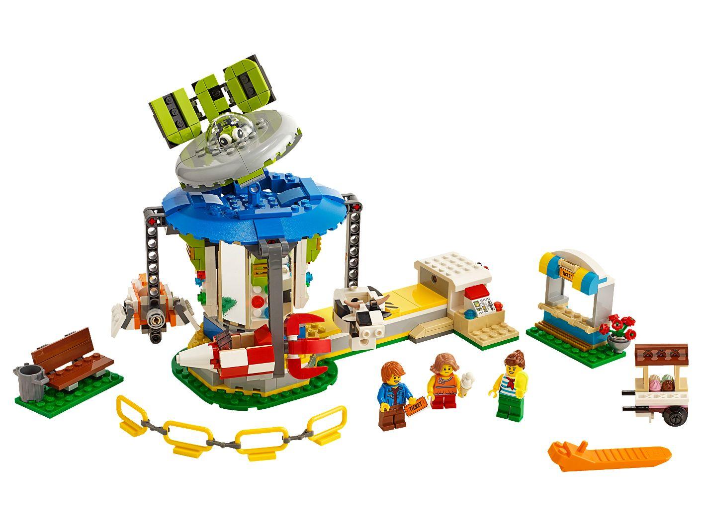 LEGO Creator Fairground Carousel 31095 £31.49 + £3.95 delivery @ LEGO Shop (instore & online)