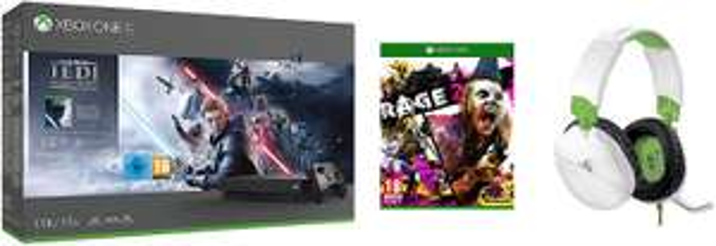 Xbox One X Console - Star Wars Jedi: Fallen Order + Rage 2 + Turtle Beach Recon 70X White Gaming Headset £329.99 @ Amazon