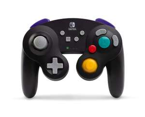 PowerA Wireless Officially Licensed GameCube Style Controller/Super Smash Bros. Black for £25.61 Delivered @ Amazon UK