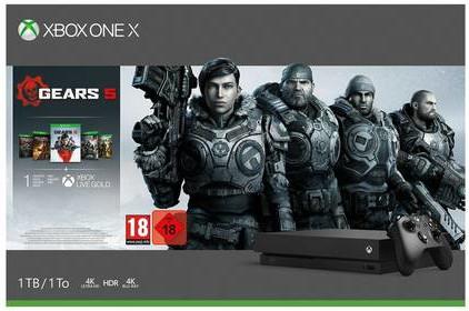 Xbox One X 1TB Bundles - 4K Console w/ Gears 5 / White Forza Special Edition / Forza Horizon 4 LEGO Speed - £289.74 @ Argos eBay