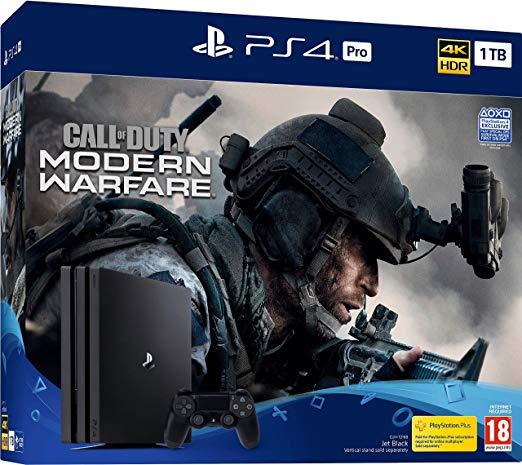 Sony PS4 Pro 1TB & Call of Duty: Modern Warfare Console Bundle - £284.99 @ Argos eBay